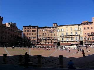 Sienna Square Panoramic