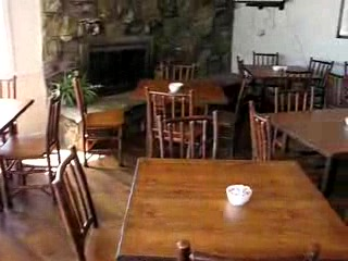 Breakfast room at the Brandin' Iron Inn in West Yellowstone, Montana.