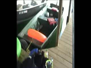 Fishuntime Resort: Fish un Time Private Dock Pan around view