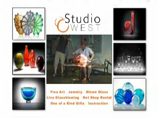Studio West Glassblowing Studio and Gallery: About Studio West