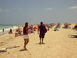 Beach, Riu Oliva Beach, Fuerteventura, Corralejo