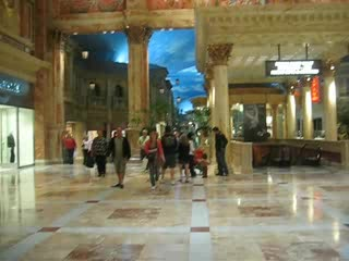 Caesar's Palace shops and casino
