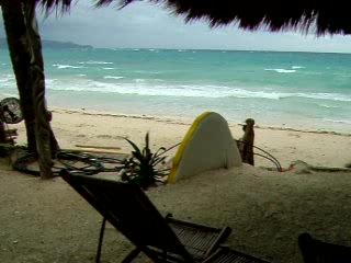 Artista Beach Villas: Strong winds