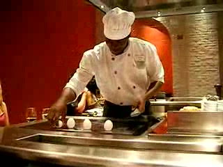 Iberostar Grand Hotel Rose Hall: Cook at the Japanese Restaurant