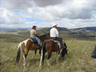 Dubois, WY: Lazy L&B Ranch, Wyoming ... great riding