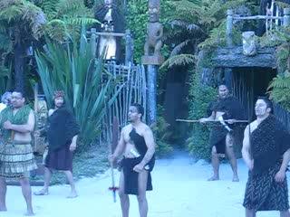 โรโตรัว, นิวซีแลนด์: Maori Hangi Welcoming Ceremony