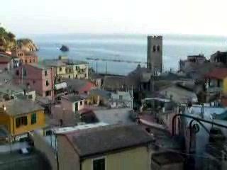 Manuel's Guest House: Bells in Monterosso al Mare; Manuel's Guesthouse