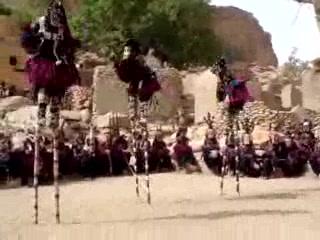 Bandiagara, Mali: Dogon Mask Dance
