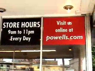 Powell's City of Books: A Whirlwind Tour of Powell's Book Store in Portland