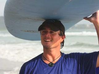 Point Break Surf School: Teacing kids to surf!