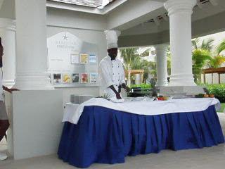 Iberostar Grand Hotel Rose Hall : Cooking class and wine tasting at Iberostar Grand Rose Hall