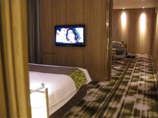 Crowne Plaza Changi Airport: Suite - huge!