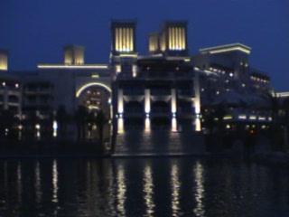 Jumeirah Mina A'Salam: Mina A' Salam waterway cruise.