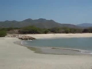 Margarita Adası, Venezuela: Playa Puerto Cruz