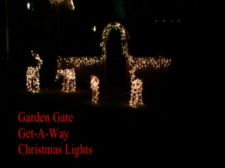 Garden Gate Get-A-Way Bed & Breakfast: Ohio Bed and Breakfast Christmas Lights