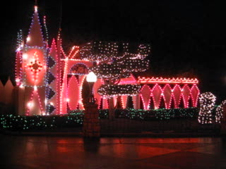 Disneyland Park: It's a Small World decorated for Christmas 2005