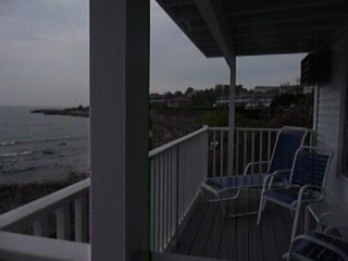 The Sparhawk Oceanfront Resort: View from our balcony