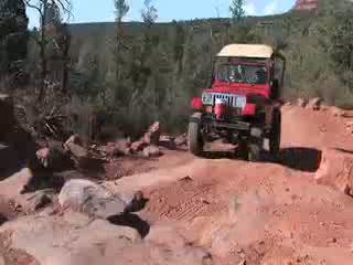 Wonderful Sedona, AZ: Red Rock Western Jeep Tours