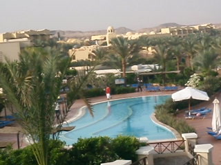 Jaz Lamaya Resort: view from our room