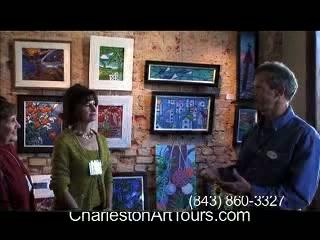 Charleston Art Tours: Preview of Art Tour