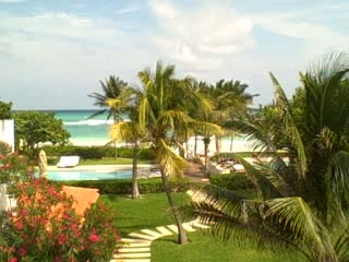 Hotel Esencia: A view from our room
