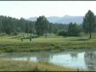 Truckee, CA: Northstar-at-Tahoe Resort golf course overview