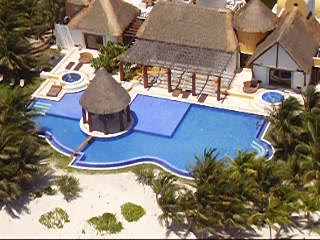 Excellence Playa Mujeres View From Air.