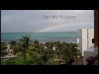 Secrets Maroma Beach Riviera Cancun: Beautiful Rainbow