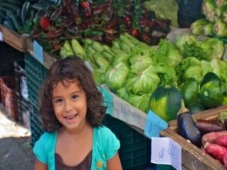קויפוס, קוסטה ריקה: The Farmers Fair ~ Ferias del Agricultor ~ Quepos, Costa Rica