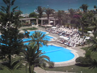 Sheraton Rhodes Resort: sheraton general view of gardens and pools