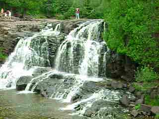 Grand Marais, MN: Movie.  Video of Gooseberry Falls