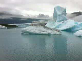Seward, AK: Bear Glacier lagoon