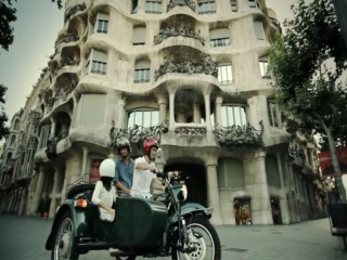 BrightSide Tours: Discover Barcelona cruising on a sidecar motorcycle