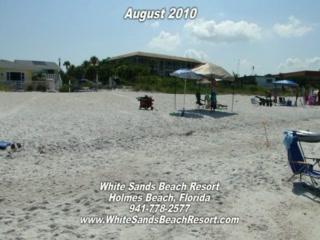 White Sands Beach Resort Anna Maria Island Florida Condition August 2010