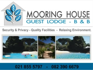 Mooring House Accommodation