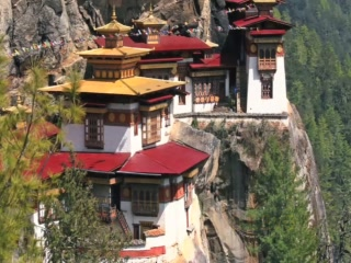 Paro, Bhoutan : Tiger's Nest Monastery - Great Attractions (Bhutan)