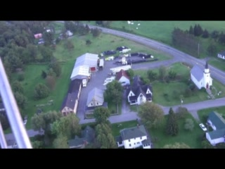 Auberge West Brome from the air