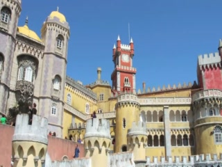 Sintra Municipality, Portugália: Pena Palace - Great Attractions (Sintra, Portugal)