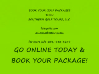 Americas Best Value Inn & Suites- Foley / Gulf Shores: Golf Package