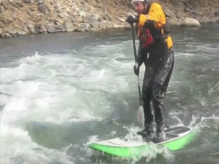 Surfing on the Arkansas River