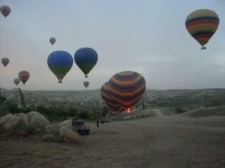 Cappadocia, Tyrkia: Baloon vıdeo