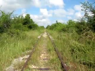 Battambang, Cambodia: Bamboo Train Cam