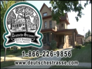 Deutsche Strasse Bed & Breakfast: Video Tour of Deutsche Strasse Bed and Breakfast and New Ulm, MN