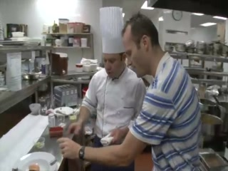 Cooking at the Hotel Quintessence, Quebec