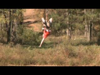 Bigfoot Zipline: Geronimo!