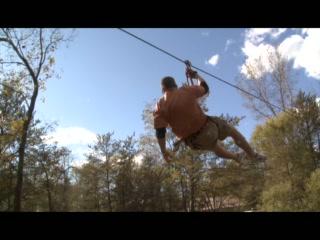 Bigfoot Zipline: Me Tarzan, You Jane