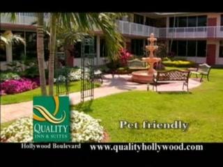 Quality Inn & Suites Hollywood Boulevard: Family getaway