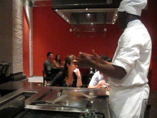 Iberostar Grand Hotel Rose Hall: Chef ching ching at the japanese resturant