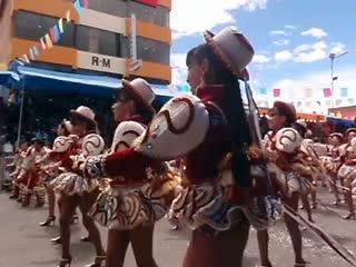 Oruro, โบลิเวีย: Dancers