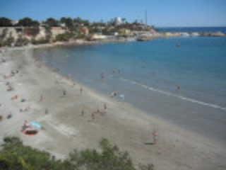 Playa Flamenca, Spain: Cala Caleta beach in Cabo Roig